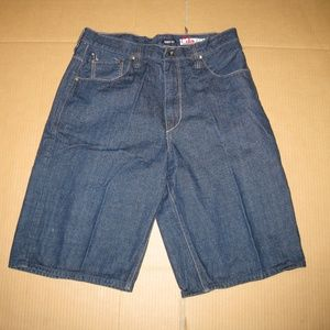 Ecko Unlimited Men's Jean Shorts    Waist: 38